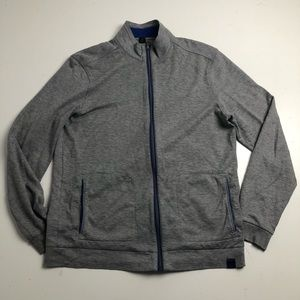 Boss Hugo Boss Full Zip Sweater Regular Fit Gray